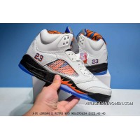 Air Jordan 5-28 Blue Orange Copuon