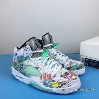 Air Jordan 5 Wings Luminous Wings Graffiti 3m AV2405-900 Free Shipping