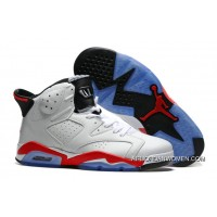 Air Jordan 6 White Infrared White/Infrared-Black New Style