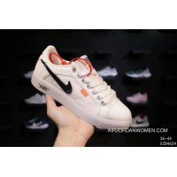 120 Nike OFF-White X High Street Fashion AIR Jordan Skyhigh OG 1 Collaboration Publishing Canvas Shoes Built-in AIR Sole Zoom The Size Best