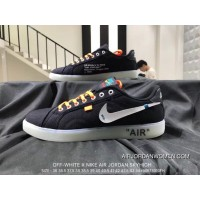 Nike OFF-WHITE X AIR Jordan SKYHIGH Collaboration Sneakers SKU 819953-65 Outlet