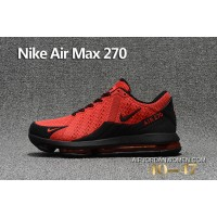 MEN BLACK RED Nike Air Max Flair 270 Free Shipping