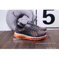 Nike Air Max 270 Triple Black Grey Orange Super Deals