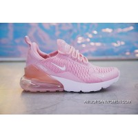 18SS Nike Air Max 270 AH8050-610 Pink White Women Best