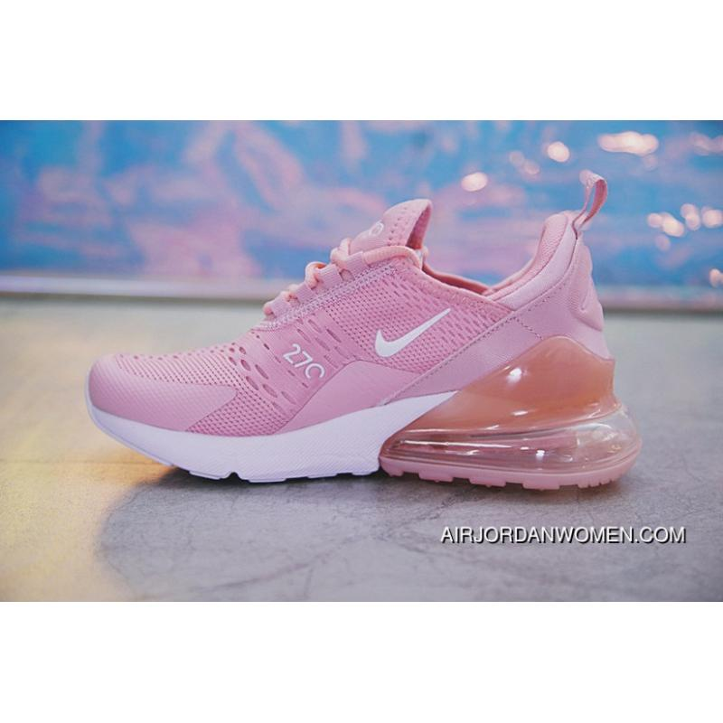 huge discount 7f880 df474 ... 18SS Nike Air Max 270 AH8050-610 Pink White Women Best ...
