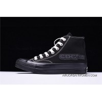 Icm62308 18 Ss Rei Kawakubo COMME Des GARCONS X Converse Addicts High Sulfide Canvas Sneakers Black White 1 Ck985 Best