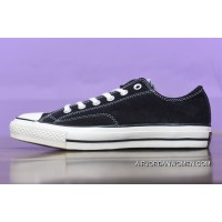 Converse Low 1970 S Black Suede 1970 C New Year Deals