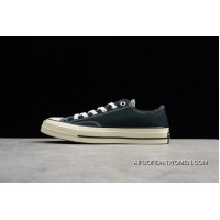 Converse All Star 1970S Converse Chuck Taylor 1970s Low Black Canvas Shoes 144757C Online