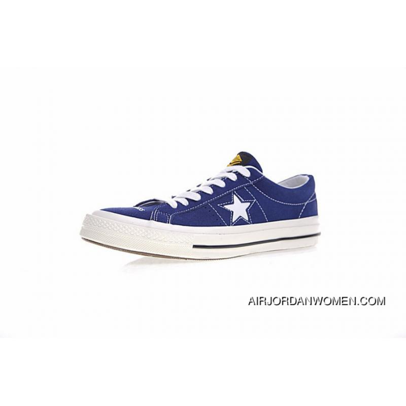 5c50f6ddd108 Sulfide Year-end Blockbuster Collaboration Shawn Make Brand Manage Madness  X Converse One Star Converse Chuck Taylor 1970 S Sulfide Sneakers Navy Blue  White ...