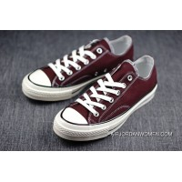 Shawn Make Be Converse Retro Vulcanization Low 1970 S 1970 S Wine Red Converse Chuck Taylor A Size Large Free Shipping