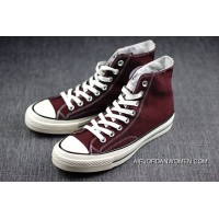 Shawn Make Collaboration Converse Retro Vulcanization 1970 S 1970 S Wine Red Converse Chuck Taylor A Size Large Outlet