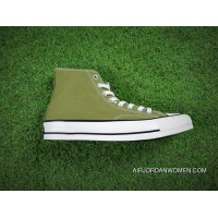 Women Shoes And Men Shoes Version Limited 17 Aw Autumn Converse Chuck Taylor All Star Hi Addict Vibram Addicts Series High Sulphide Canvas Sneakers Olive Green 1 Ck923 New Style