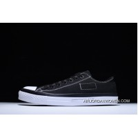 Hiroshi Fujiwara Collaboration Again Fragments X Converse Chuck Taylor All Star II OX Lunarlon Cushioning Insole 2 Sulfide Sneakers Low Black WHite Lightning 156731 C New Style