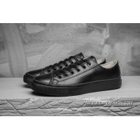 The CONVERSE Chuck Taylor All Star II Pure Color Cow Leather All Low Black 153556 C Discount