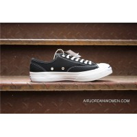 Converse Canvas Shoes Converse Jack Purcell Purchell Low Series SKU 152684C Converse Purchell Black Copuon