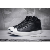 CONVERSE Jack Purcell LP L S Thin Bottom Leather Purchell Black High 154145 C Outlet