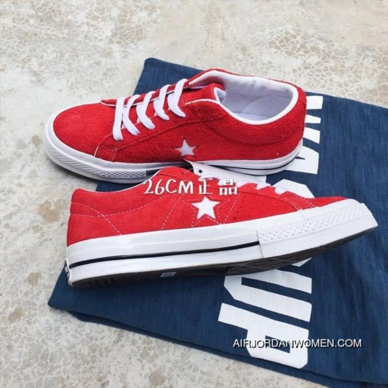 e55a9617cc7c6 Converse ONE STAR Red Color New Year Deals