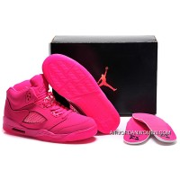 For Sale Girls Air Jordan 5 All-Pink Shoes