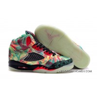 New Release Girls Air Jordan 5 Maple Leaf Champion Shoes