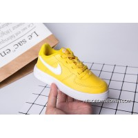 700 22-35 Kids Nike Air Force One Yellow Top Deals