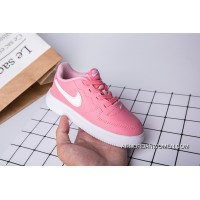 Kids Nike Air Force One Pink White Latest