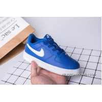 Kids Nike Air Force One Blue White New Release
