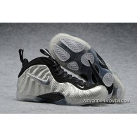 Nike Air Foamposite Pro Silver Surfer Metallic Silver/Black Outlet