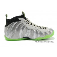Top Deals Nike Air Foamposite One Metallic Silver/Volt-Black-Cool Grey