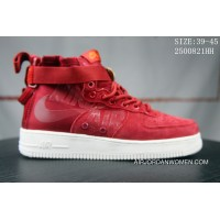 4 Nike SF AF1 1917753 SIZE:39-45 919150 Nike Air Force One Men Red Copuon