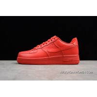 Women/Men Nike Air Force One Low 'Solar Red' New Year Deals