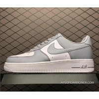 Nike Air Ce One Af1 Low White Wolf Grey Men's Shoes AQ4134-101 For Sale