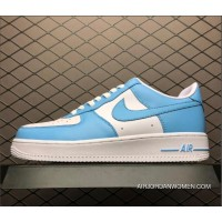 Men's Nike Air Ce One Low Blue Gale White AQ4134-400 For Sale
