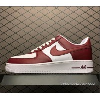 Nike Air Force One Low Red White AQ4134-600 Men's Size Top Deals