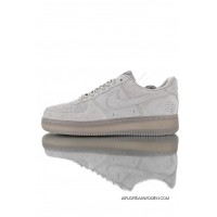 One Of The Most Upgrade Transparent Insole Vancouver Brand Canada Defending Champion Reigning Champ X Nike Air Force One 07 A Generation Classic Low All-Match Sneakers The Defending Fog Grey 3MAA1117-119 Copuon