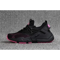 Nike Huarache 6 Generation FLYKNIT Air Max Zoom Air Drift PRM Black And Pink Discount
