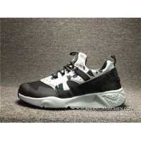 Nike Air Huarache Utility Black Camo Mens Running Shoes SNEAKERS 806807-001 Online