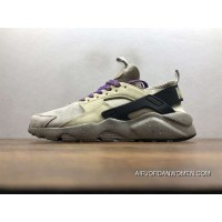 Nike Air Huarache Pig Leather Material Running Shoes 829669-334 New Style