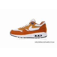 30 Th Anniversary Limited Version Nike Air Max 1 Anniversary OG Retro Zoom All-match Jogging Shoes Yellow Curry White 306295-711 Super Deals
