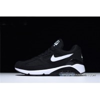 Nike Air Max 180 Black White Men's And Women's Size Trainers Running Shoes Free Shipping