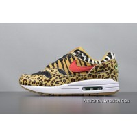 NIKE AIR MAX 1 ATMOS ANIMAL Leopard PACK Men Shoes AQ0928-700 Authentic Online