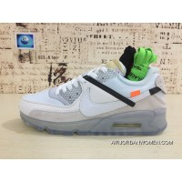 Nike 90 Be Publishing Air Max90 OFF-WHITE Zoom Running Shoes Acme AA7293 Retro Perfect Detail-100 Women Shoes And Men Shoes Latest