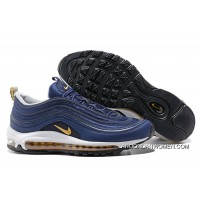 Copuon Undefeated X Nike Air Max 97 Og Midnight Navy – Metallic Gold/White