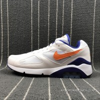 Nike Air Max 180 Retro Zoom Casual Running Shoes 615287-101 Size Outlet