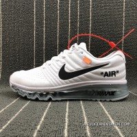 Virgil Abloh Designer Independent Brand Super Limited OFF-WHITE X Nike Air Max 2017 To Be The Size 19 619745-100 Outlet