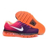 Authentic Nike Air Max 2017 Purple Pink Orange For Sale Sar2z5