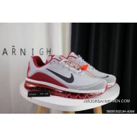 Nike Air Max 2017.5 40-47 Men Grey Red For Sale