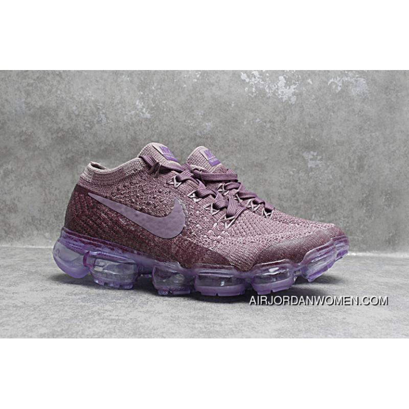 detailed look f9945 30bb4 Nike Air Max 2018 VaporMax Kids Shoes Purple New Year Deals