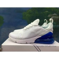 120-1801-10 AH8050-1801 White Navy Blue Men Women Shoes Nike 270 Half-270 Air Max 270 Palm As Anti-slip RB MD Suspension Support Insole Top Deals