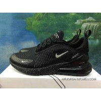 120-1801-11 AH8050-1801 Black Siliver Men Women Shoes Nike 270 Half-270 Air Max 270 Palm As Anti-slip RB MD Suspension Support Insole Latest