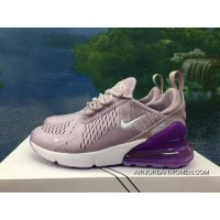 120-1801-13 AH8050-510 Shallow Purple Women Shoes Nike 270 Half-270 Air Max 270 Palm As Anti-slip RB MD Suspension Support Insole Copuon